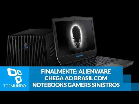 Finalmente: Alienware Chega Ao Brasil Com Notebooks Gamers Sinistros