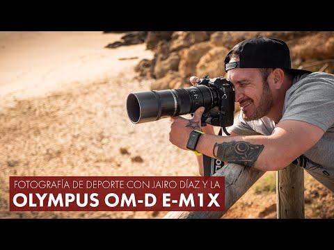 Fotografía de deporte con Jairo Díaz y la Olympus OM-D E-M1X