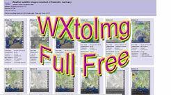 WXtoimg Pro Vollversion free NOAA Wettersatelliten Satellitenbilder empfangen