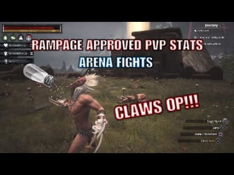 Rampage Approved PvP Stats/Arena Fights  