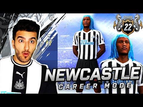 NEWCASTLE´S NEW WONDERKID LOOKS INSANE! - FIFA 19 NEWCASTLE CAREER MODE #22