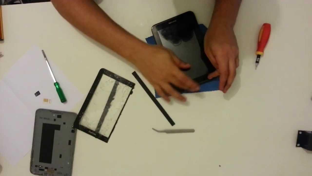 Trocando Tela Galaxy Tab 2