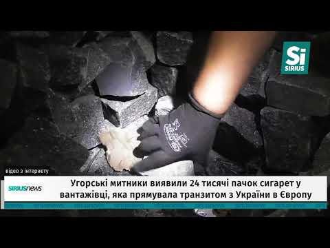 Угорські митники виявили 24 тисячі пачок сигарет