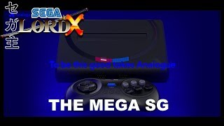 The Analogue Mega SG - FPGA Sega Genesis & Mega Drive System!