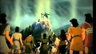 The Ten Commandments - ( Children Christian Bible Cartoon Movie )