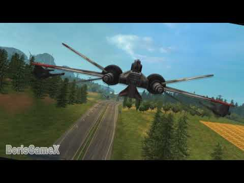 ETS Euro Truck Simulator 2 --- Star wars Jedi Monster Trucks USA |