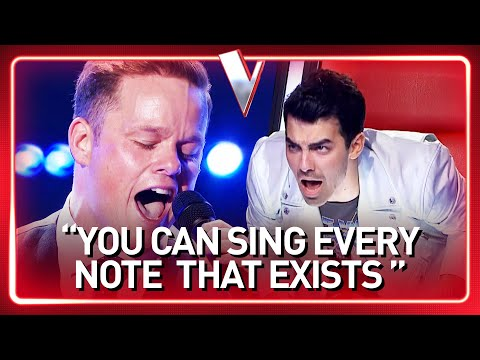 INSANELY HIGH NOTES shock The Voice Coaches | Journey #66