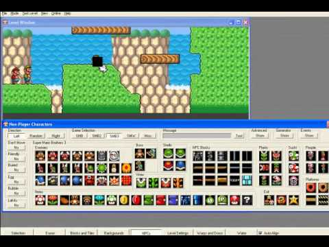 Super mario bros x level editor tutorial 2 youtube gumiabroncs Image collections