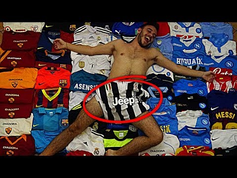 HO SPESO 5.000€ IN MAGLIE DA CALCIO!!!