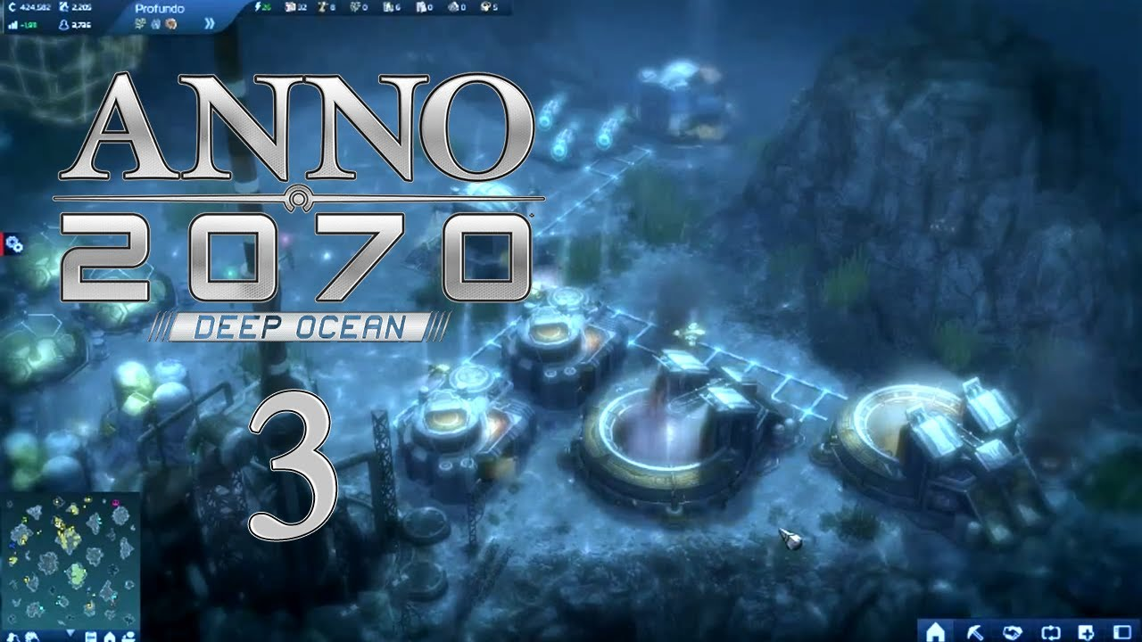 Anno 2070 deep ocean ep 3 underwater mining youtube for Anno 2070 find architect