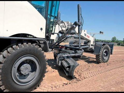 TEREX  Heavy duty motorgraders (2013).