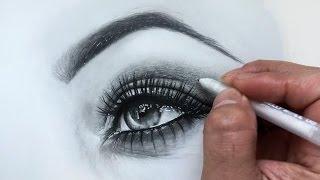 Adding Highlights To Eye Drawing