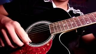Âm thầm bên em (sơn tùng - mtp) guitar solo