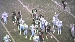 1986 Campbell Memorial Red Devils  VS Kenston Blue Bombers