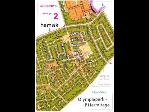 Bruges / Brugge Orienteering 2015 - Sprint 1 - Olympiapark