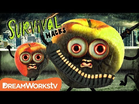 Survive a ZOMBIE Apocalypse!! | SURVIVAL HACKS