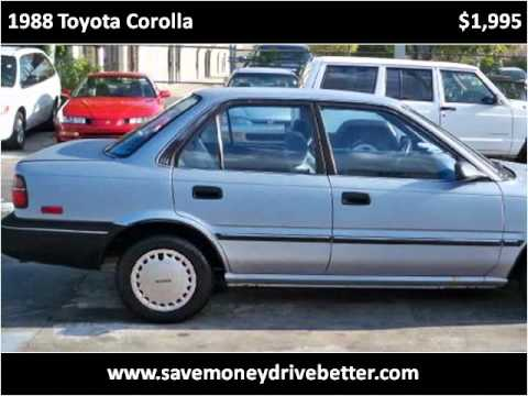 Used Cars West Palm Beach >> 1988 Toyota Corolla Used Cars West Palm Beach FL - YouTube