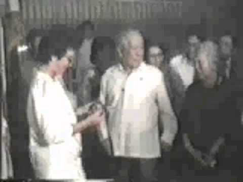 Lorenzo M. Tañada receives the Philippine Legion of Honor (Degree of Chief Commander)