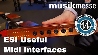 MESSE 2018: ESI - Very Useful MIDI Interfaces and More