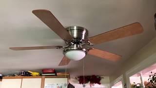 """Hampton Bay Hugger Ceiling Fan 52"""""""