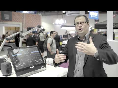 Virtual Radio Mixing Console crystalClear by LAWO at NAB Show 2015