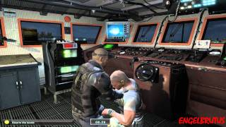 Splinter Cell Double Agent PC Gameplay Bonus Mission   NYC - Coast Guard Boat
