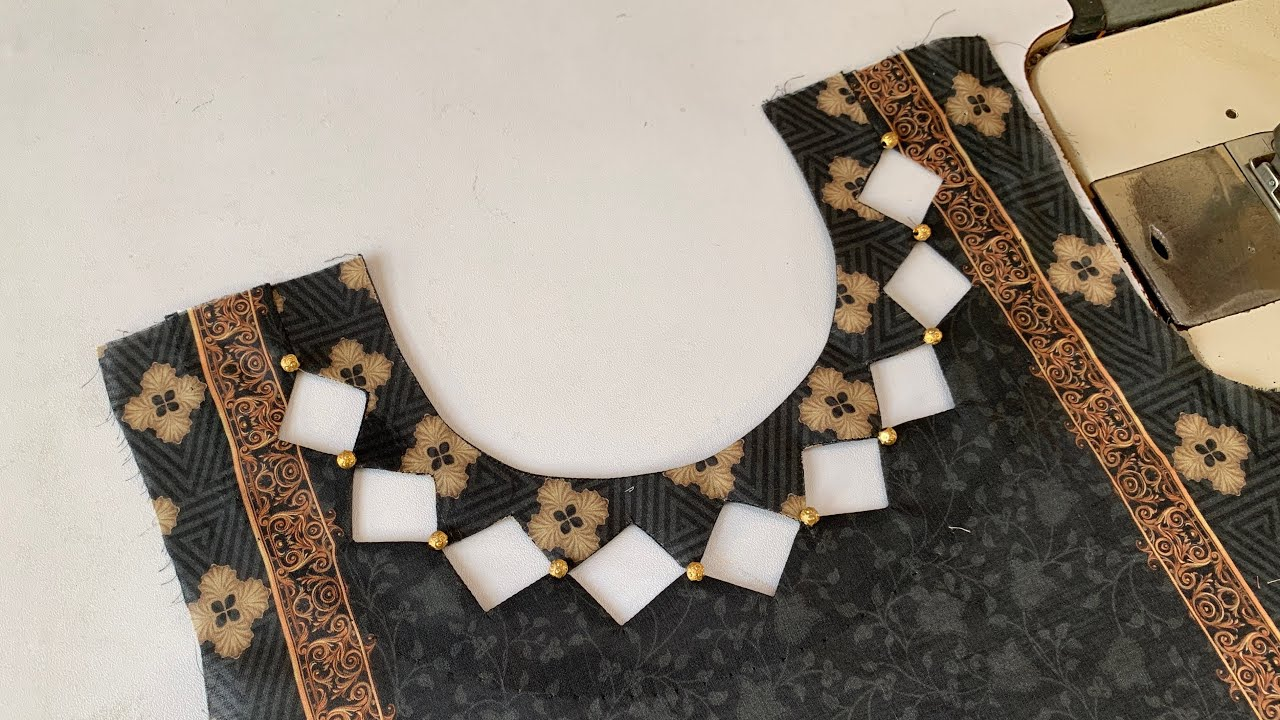 Beautiful and Stylish Neck Design for Eid / Cutting and Stitching