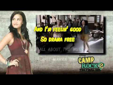 Brand New Day - Camp Rock 2 Karaoke With Lyrics