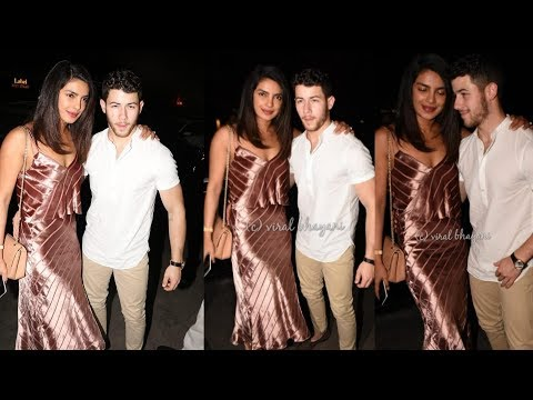 Priyanka Chopra looks so shy with Nick Jonas for dinner date before their marriage