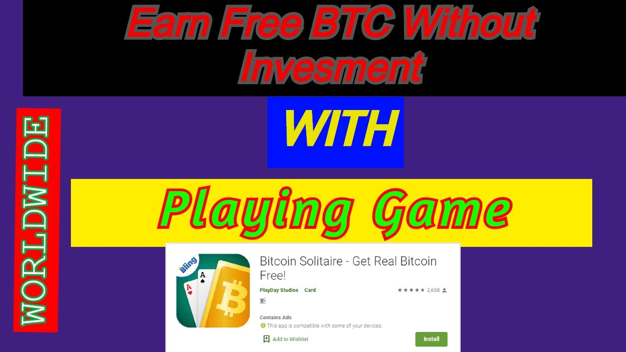Earn Money By Playing Games Without Investment