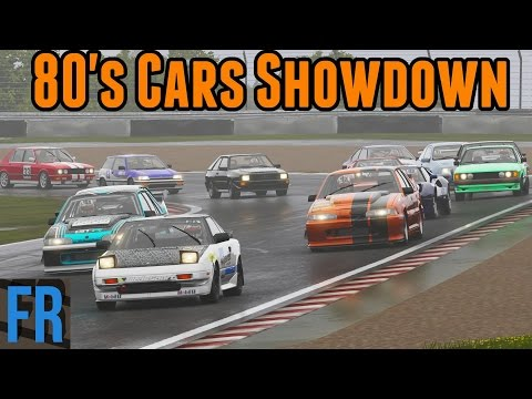 FailRace Vs The Community -  80's Cars Showdown