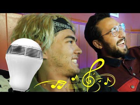 MUSICAL LIGHT BULB PRANK - YouTube