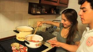 Preparando Ravioles, receta sencilla para dummies .