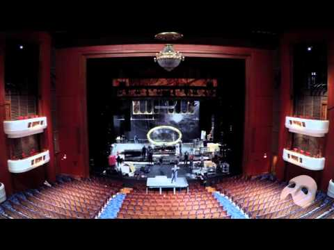 Timelapse of THE PHANTOM OF THE OPERA Load In