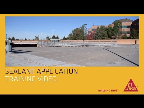 Sika Sealant Application Video