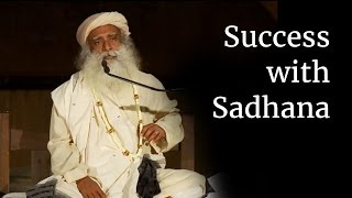 sadhguru about being successful