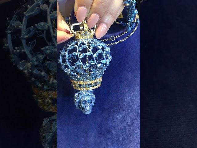 Macabre but cool jewel of Marie Antoinette
