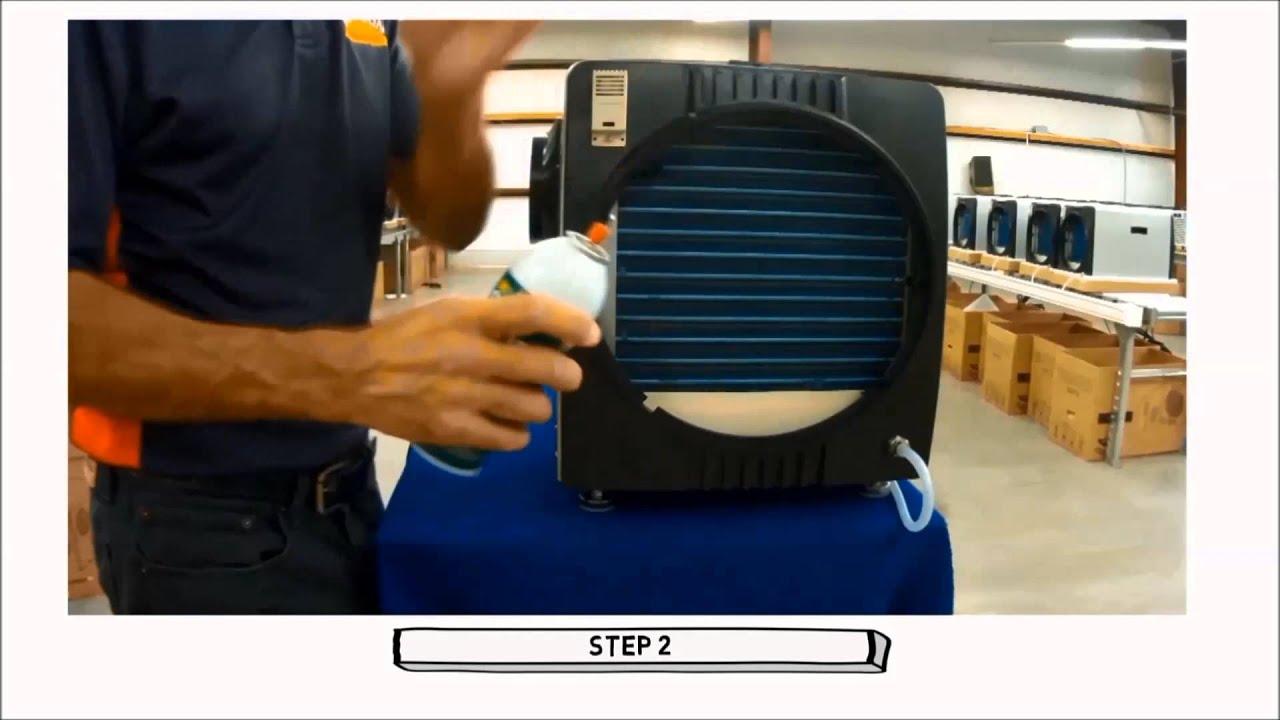 Horizon Crawl Space Dehumidifiers Basic Maintenance Steps 1-4