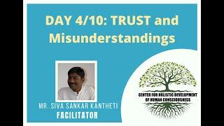 Day4/10 - Mr. Siva Kantheti - Universal Human Values / Jeevan Vidya Online Workshop