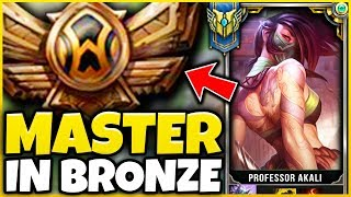 I TOOK MY REWORKED AKALI INTO BRONZE (FOR THE FIRST TIME) MAST…