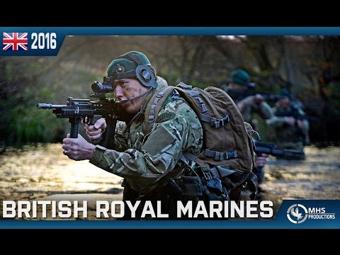 "British Royal Marines | ""Per Mare, Per Terram"""