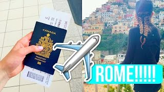 FLYING TO ITALY!!!!