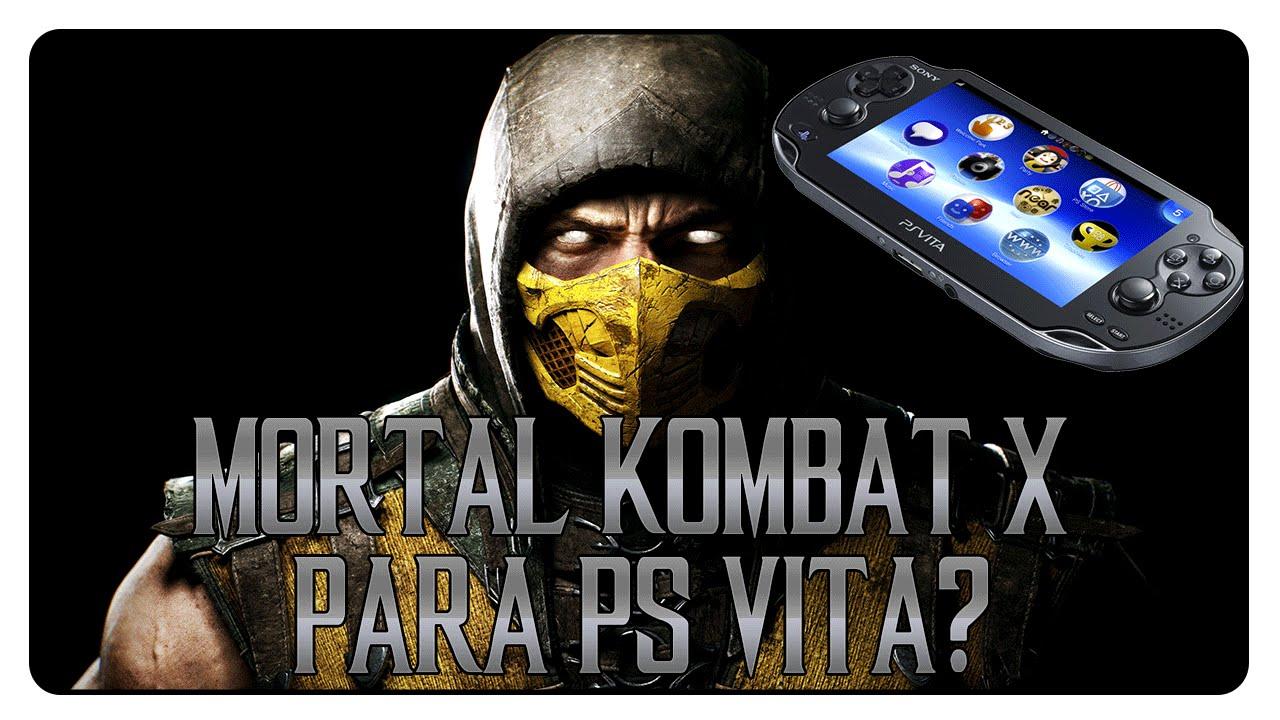 Mortal Kombat X Para PS Vita? Ed Boon Responde - YouTube