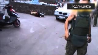 War in Ukraine Жесть! Моторолла стреляет в своего бойца