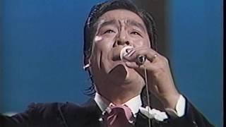 北島三郎、五木ひろしのギターがバックの'74年ヴァージョン。「揺れて歩...