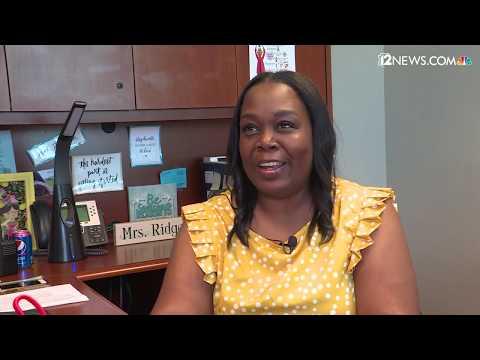 Raw:  J.O. Combs Middle School principal recalls lifesaving act