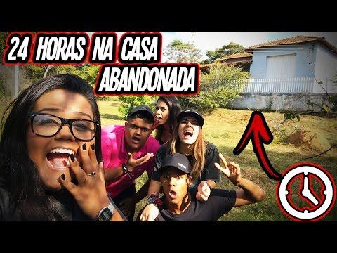 24 HORAS NA CASA ABANDONADA!! (DESAFIO)