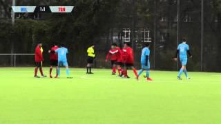 1.FC Wilmersdorf - SpVgg Tiergarten (U19 A-Junioren Bezirkliga, St. 3) -  Spielszenen | SPREEKICK.TV