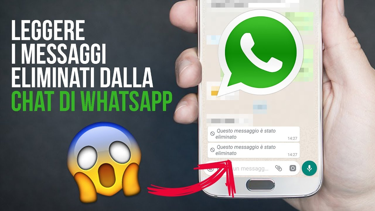 Recuperare chat cancellate WhatsApp – Android