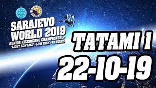 WAKO World Championships 2019 Tatami 1 22/10/19